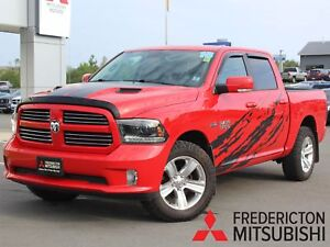 2015 RAM 1500 Sport CREW | 4X4 | LEATHER | BACK UP CAM