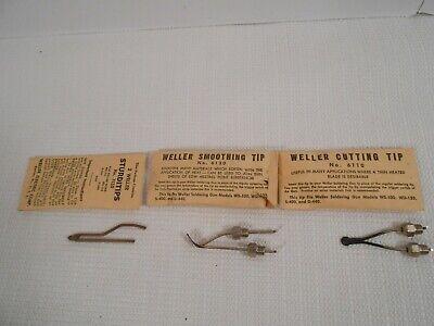 Vintage Weller Soldering Gun Tips