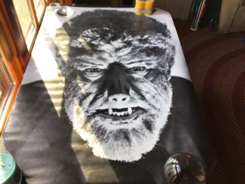 """Vintage 1967 Poster The Werewolf Personality Poster Print USA 27"""" x 39"""" rare"""
