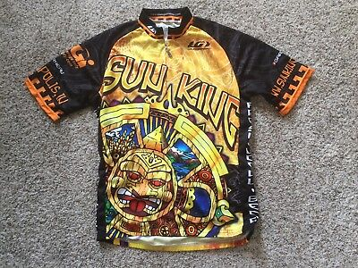 Louis Garneau Sun King Brewery Indianapolis Cycling Shirt Jersey Mens S  Womens L ba1e13773
