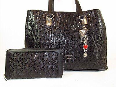 "NWT GUESS Ladies shoulder bag & matching wallet SET ""WILLIAMSON""  Free USA ship"