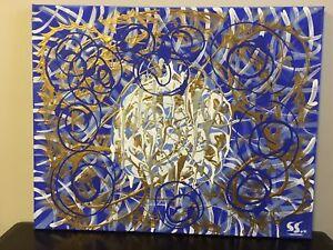 Original Acrylic Canvas Paintings