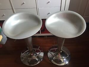 Bar Stools in Glittery Gray Tempe Marrickville Area Preview