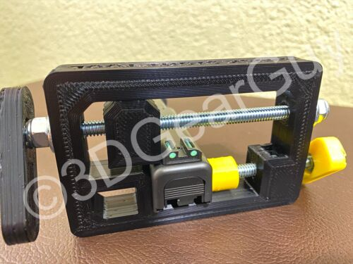 UNIVERSAL Glock Rear Sight Installation & Removal Pusher Press Tool