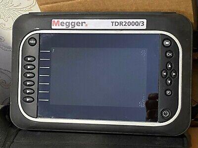 Megger Tdr20003 Domain Reflectometer