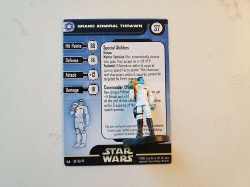 Grand Admiral Thrawn  38 Miniatures Universe Very Rare