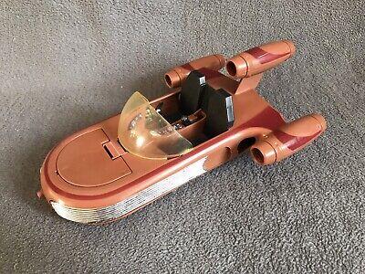 """Vintage Star Wars Landspeeder - 9.5"""" Open Bonnet Original Vehicle 1978 New Hope"""