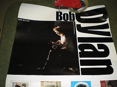 "Bob Dylan Down The Groove Promo 19"" x 30"" Poster Vg"