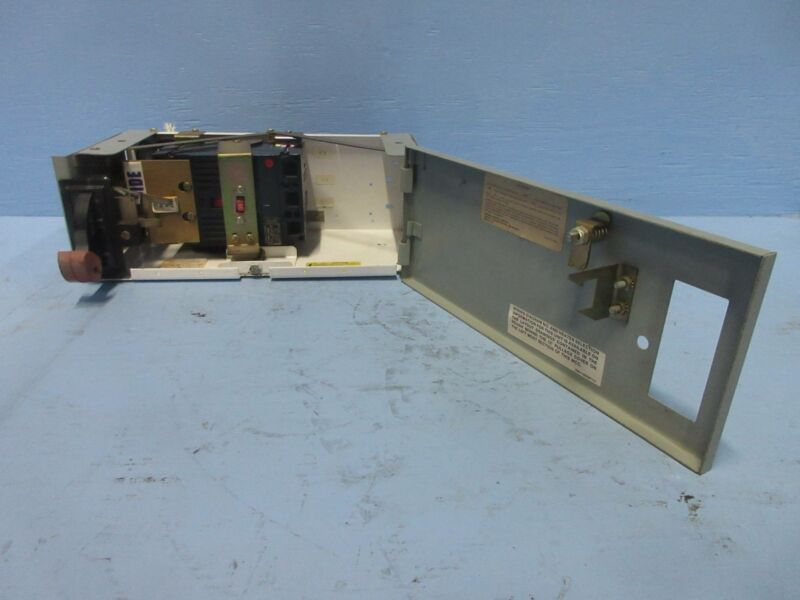 """General Electric GE 8000 15 Amp Breaker Type 6"""" MCC Feeder Bucket 15A THED136015"""
