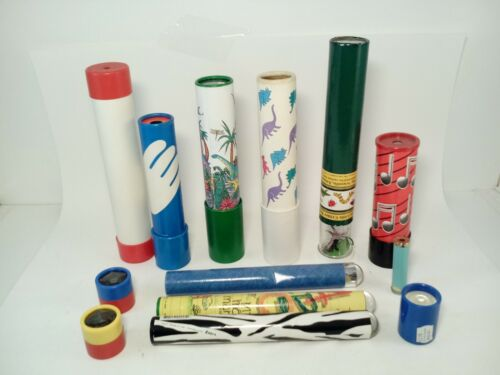 12 Kaleidoscopes Different Brands Sizes & Designs FREE SHIP #L