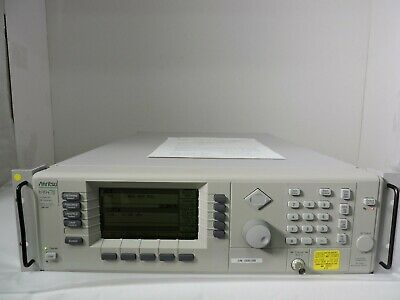 Anritsu 69047b 10mhz To 20ghz Synthesized Sweep Signal Generator Op 9k 15a 19