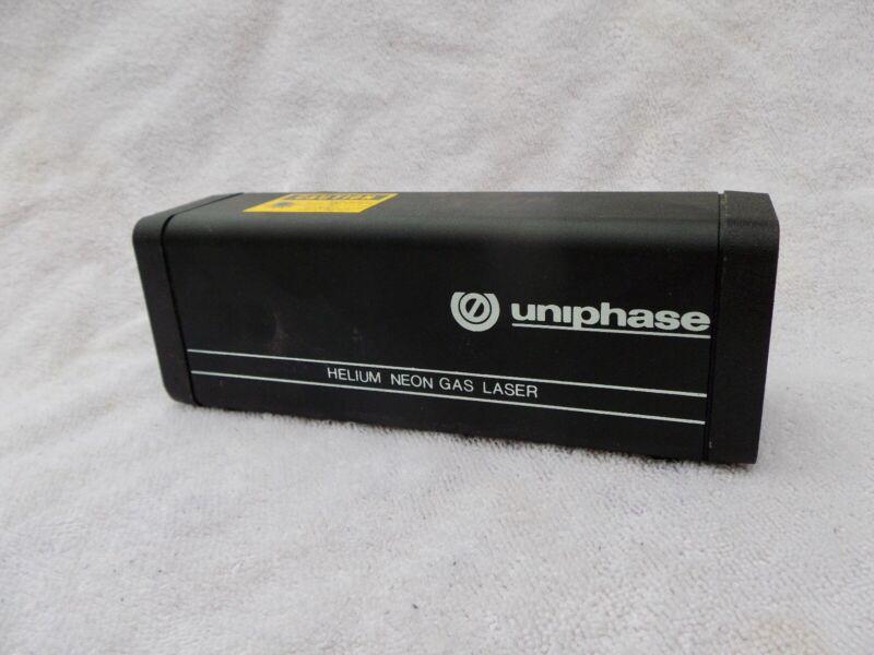 UNIPHASE   Novette Helium Neon Gas Laser  MODEL 1508-0