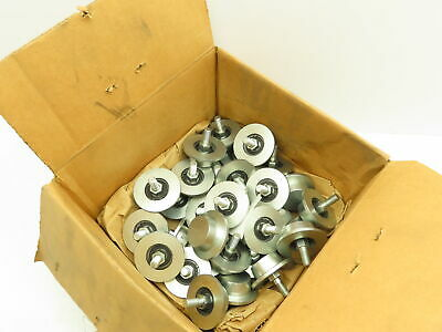 Festoon Beam Rail Trolley Truck Wheel For Trolley 38-16 Thread Lot Of 30