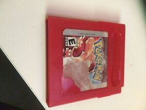 Pokemon red gameboy cartridge