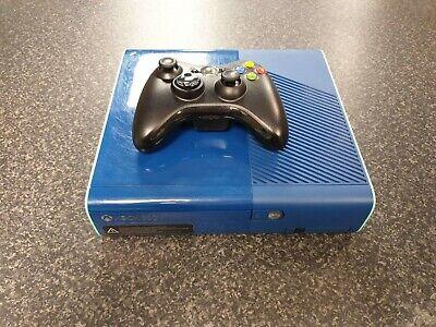 (Pa2) Microsoft Xbox 360 E 500gb Console Limted Edition Blue
