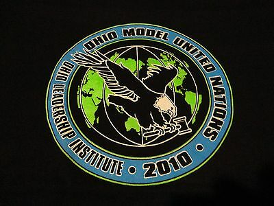 Model UNITED NATIONS Student Government OHIO T Shirt Never Worn NWOT sz Medium