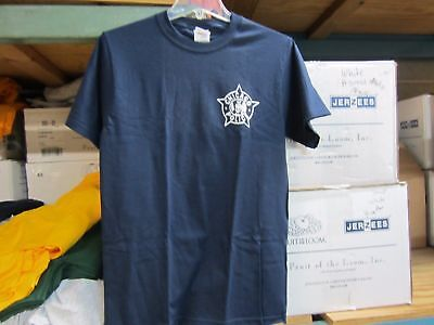 -  CHICAGO POLICE  LEFT CHEST STAR PRINTED T- SHIRT  MED,LARGE,XL,XXL,XXXL