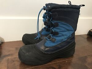 Kids North Face waterproof boots