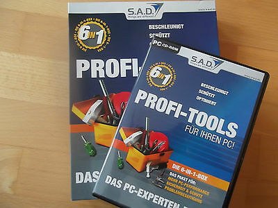 @ S.A.D. Profi Tools @ Das PC-Experten Paket @ 6 in 1 BOX! @