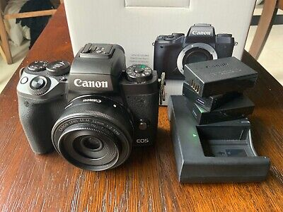 Canon EOS M5 Mirrorless Camera With 22mm f2 STM Lens
