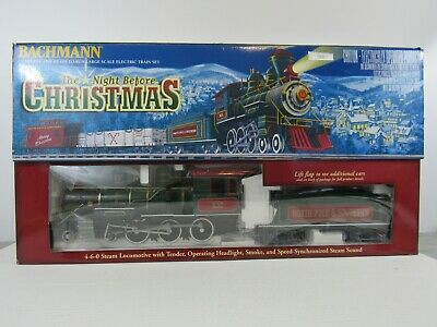 Bachmann The Night Before Christmas Scale Electric Train Set G-Scale (Pg44C)