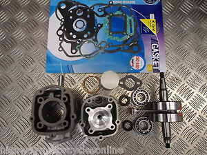 DERBI GPR 50 PISTON BARREL CYLINDER HEAD CRANKSHAFT RE BUILD KIT DB50BO D50B0