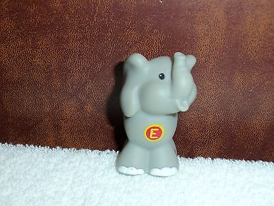 Fisher Price Little People A to Z Learning Zoo Alphabet Letter (E) Elephant