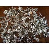 ~ 85 PiEcE LoT ~ MiXeD ThEMe SiLvER GoLd ChArMs ~ PiCk YoUR THeMeS