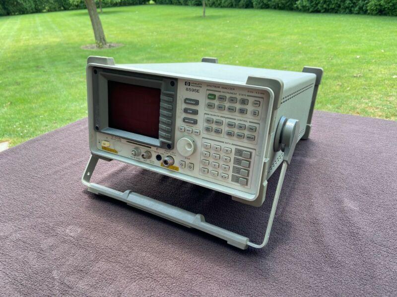 HP 8595E Portable Spectrum Analyzer, 9 kHz to 6.5 GHz