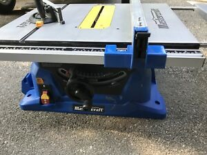 Table saw - Mastercraft