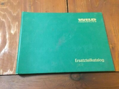 Wild Heerbrugg T1 Theodolite Repair Instructions German Surveyor