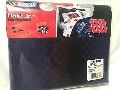 Dale Earnhardt Jr. NASCAR #88 Full Size Bed Skirt
