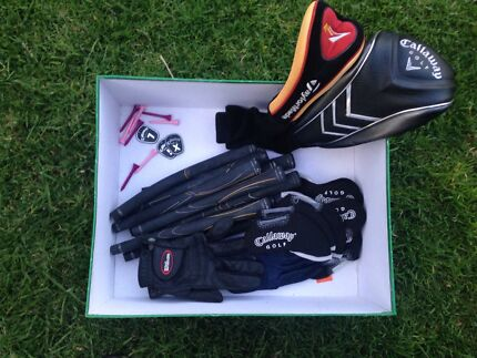 Assorted golf accessories West Beach West Torrens Area Preview