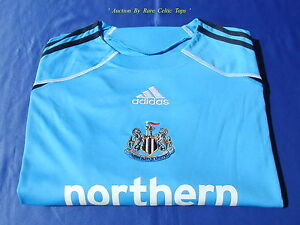 BNWT-Adidas-Newcastle-United-FC-Season-2009-2010-Home-Goalkeepers-Shirt-XXL