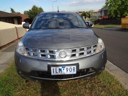 2007 Nissan Murano Automatic 6Cyl Petrol SUV 12 Months Rego & RWC