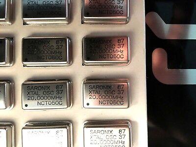 20mhz Crystal Oscillators Full Size Nct050c-20.000mhz Saronix