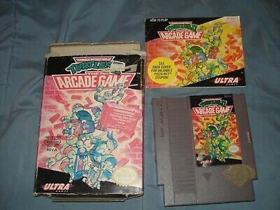Teenage Mutant Ninja Turtles II: Arcade Game Complete NES Nintendo