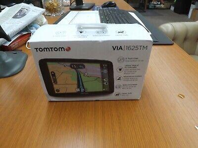 SEALED  TomTom VIA 1625TM 6-Inch GPS Navigation Device W/Free Lifetime Traffic