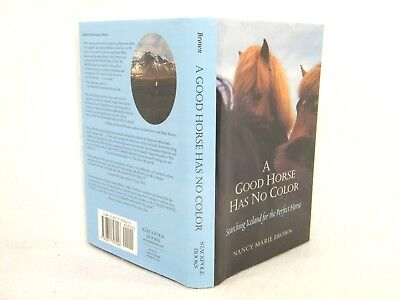 A Good Horse Has No Color:Searching Iceland for the Perfect Horse 'FLAT SIGNED'