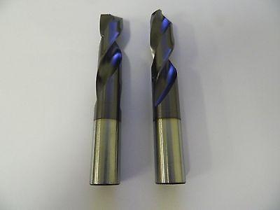 Screw Machine M42 TiN Straight Shank Drills YG1 10pcs 5.0mm Cobalt Stub