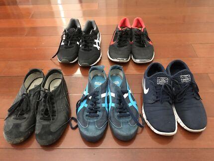 ASICS Onitsuka Tiger And Nike shoes US 10 and 9