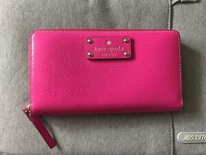 Kate Spade Pink Women's Wallet AUTHENTIC
