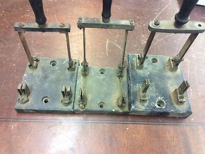 Bundle Of 3 Vintage Original Trumbull Double Pole Knife Switch Steampunk B107