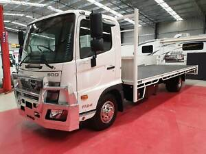 2019 NEW MODEL Hino FC 1124 AT Leaf 4990 4x2 Flat Tray H01717 Breakwater Geelong City Preview