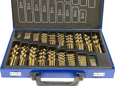 Bohrer Set 170 tlg. TITAN (+500%) HSS TiN Metallbohrer ()