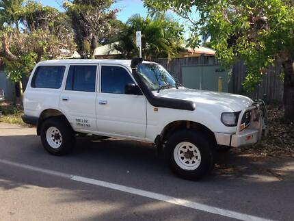 1995 Toyota LandCruiser Wagon Castle Hill Townsville City Preview