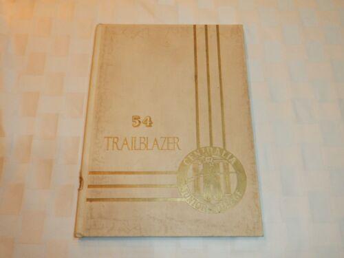 Vintage Centralia Junior College Yearbook, Trailblazer, 1954