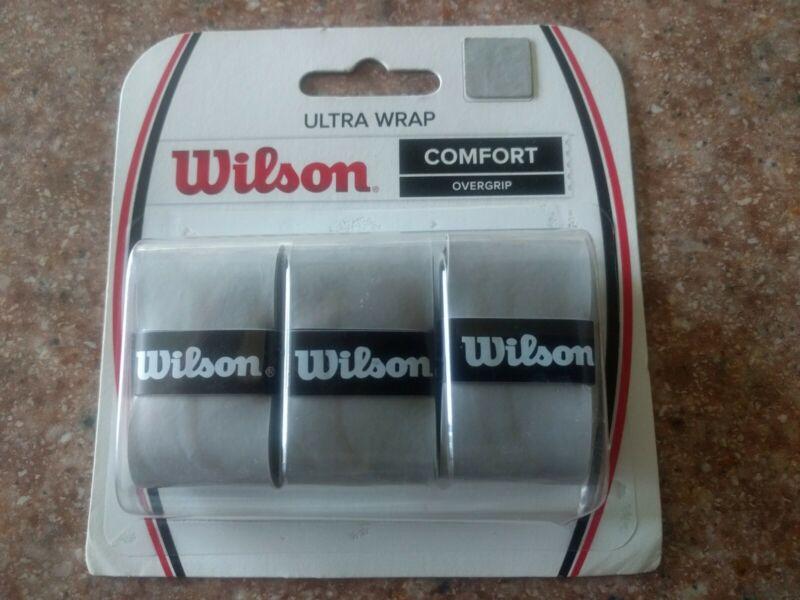 Wilson Pro Overgrip 3-Pack (Gray)