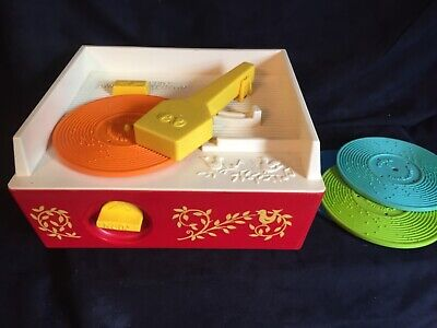 Vintage Fisher Price record player music box. Great condition. Works