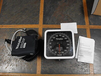 Welch Allyn 767 Series Wall Sphygmomanometer With Adult Cuff
